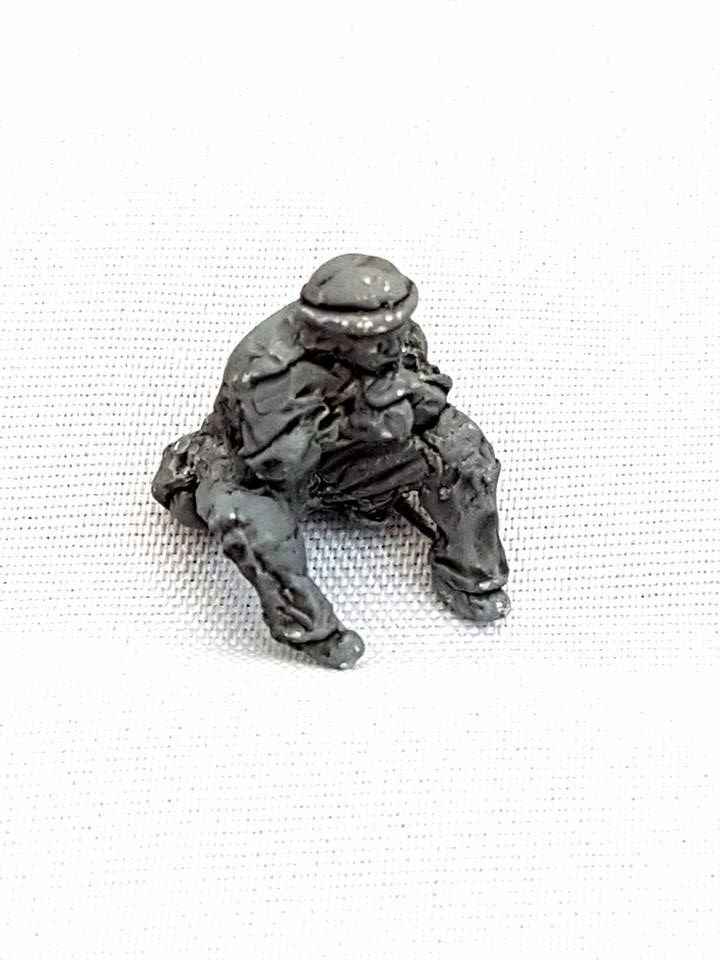 USP04 Early USA Pacific Theater (Kellys Helmets ) MMG and gunner