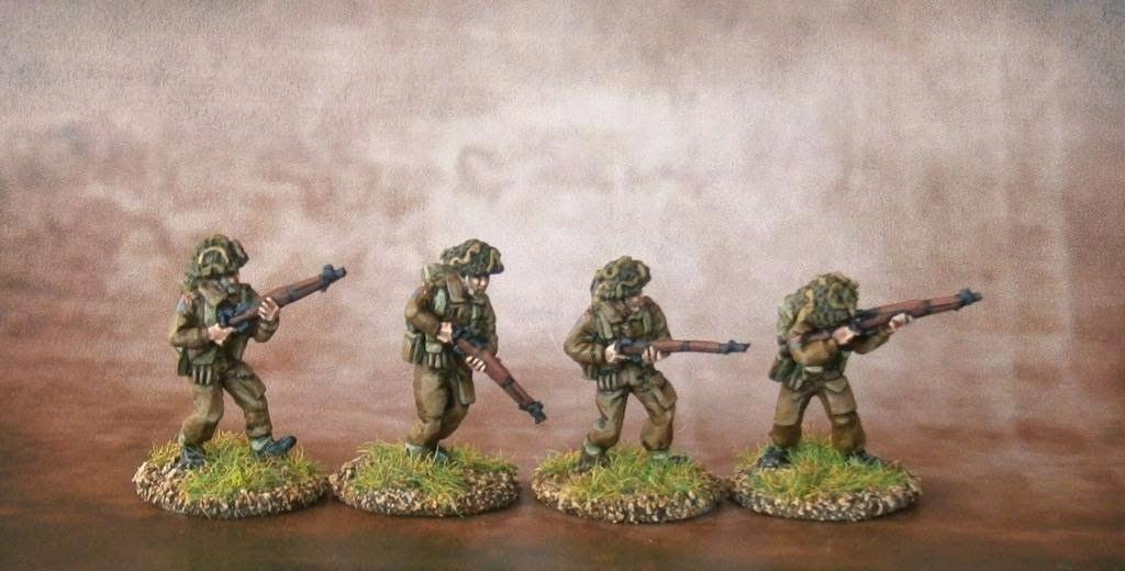 BAN01 British Army 1944-45 Riflemen A