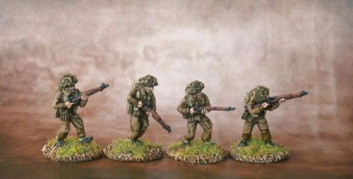 BAN01 British Army 1944-45 Riflemen A