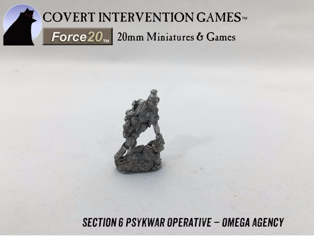 OA0601 Omega Agency - Section 6 PsykWar Operative - Collectible -