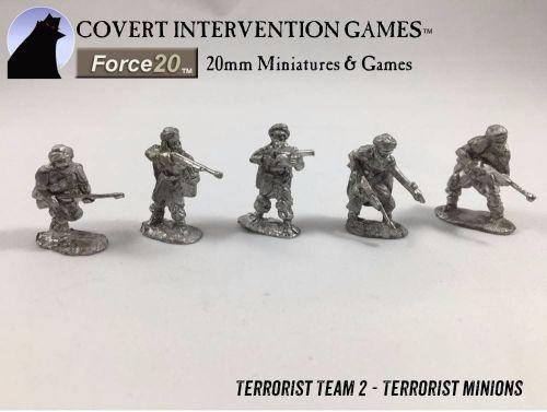 TM0002 M.A.D. Terrorist Minions - Team 2 -