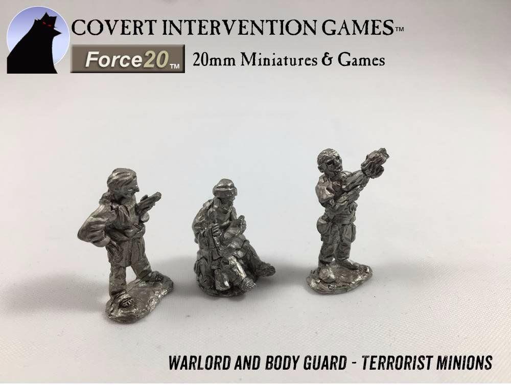 TM0101 (old TM2) M.A.D. Terrorist Minions - Warlord 1
