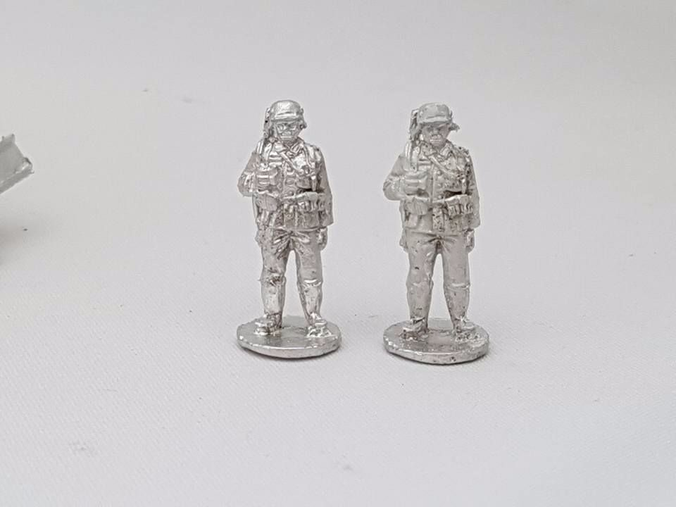 M36-07 German Infantry in M36 uniform standing guard