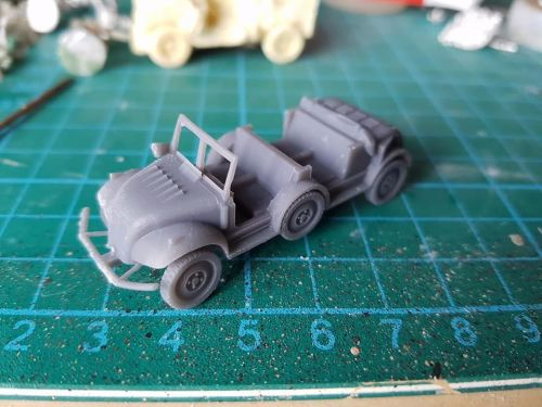 VWW202 Danish Tempo with doors removed 4x4 (used by the Axis Powers as well