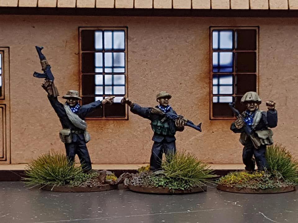 VC07 Viet Cong commanders
