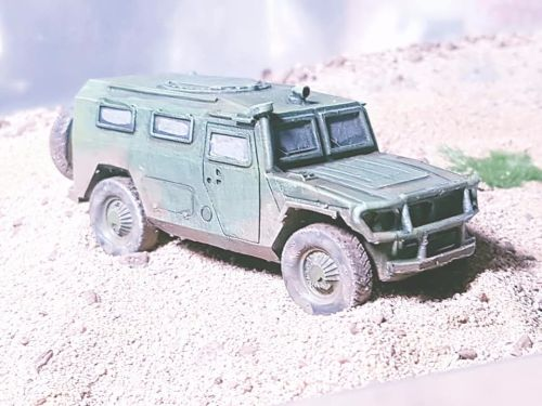 VMR01 Modern Russian GAZ 2660 Tiger SUV