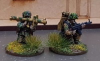 SSL08 Waffen SS late war Panzershrek Team firing