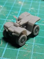 VCV05 ATV Quad with no bars for kit.
