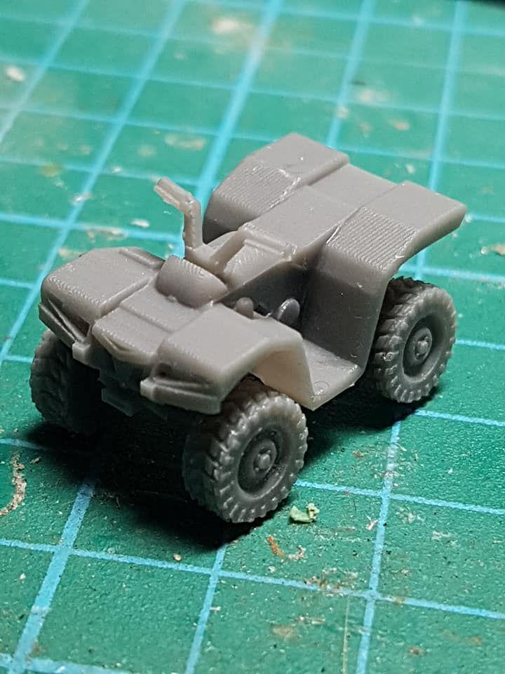 VCV05 ATV Quad with no bars for kit.