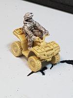RUS14 Modern Russian Quad Rider (no quad)