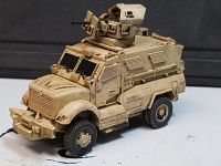 VMUS04 Modern US MRAP Maxxpro M1234 with GPK 50cal Turret