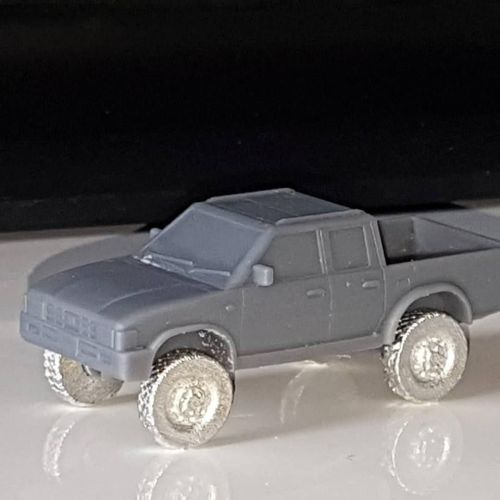 VCV10 Generic 4x4 Double Cab Pickup truck with Off-road wheels