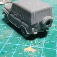 VCV12C UAZ469 Soviet/Russian 'Jeep' Canvas Cover version