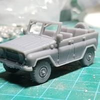 VCV12S UAZ469 Soviet/Russian 'Jeep' Windscreen version