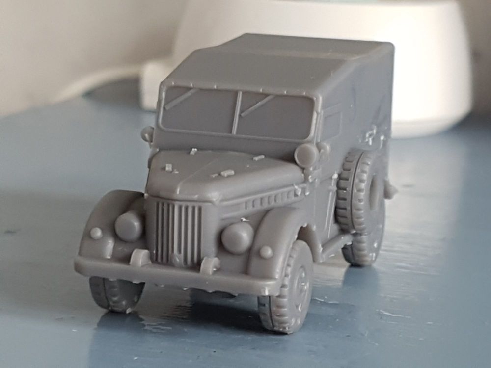 VCV13c GAZ69 Soviet/Russian 'Jeep'  Covered version