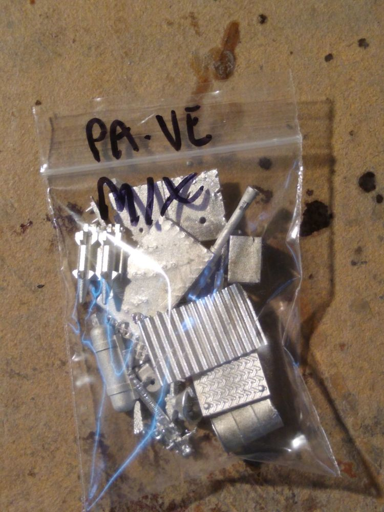 PAVEHIX A bag of random bits from the vehicle accessories, weapons, armour,