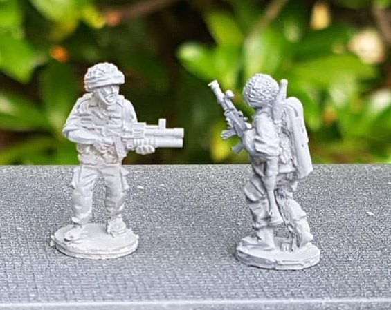 IDF08 IDF RPG7 and Galil with Grenade Launcher (slight miscast, sold till t