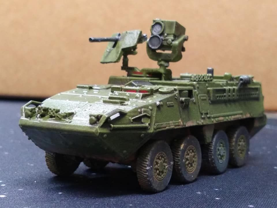 VMUS05B M1227 Reconnaissance Vehicle with LRAS3