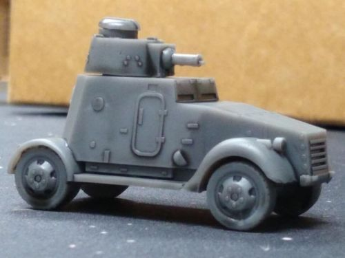VMW07 Ford MkVI Armoured Car (Used by the Irish Army in the 50's and 60's)