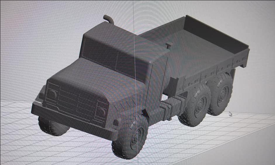 M923 Medium truck Open backed