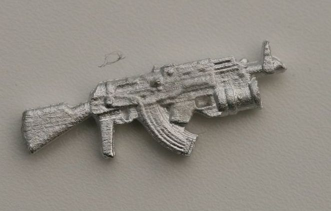AKM+GP25 The infamous weapon of the Soviets and seen all over the world.