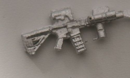 M4 Mk18 CQB RIS and Optic used by US Rangers (later version)