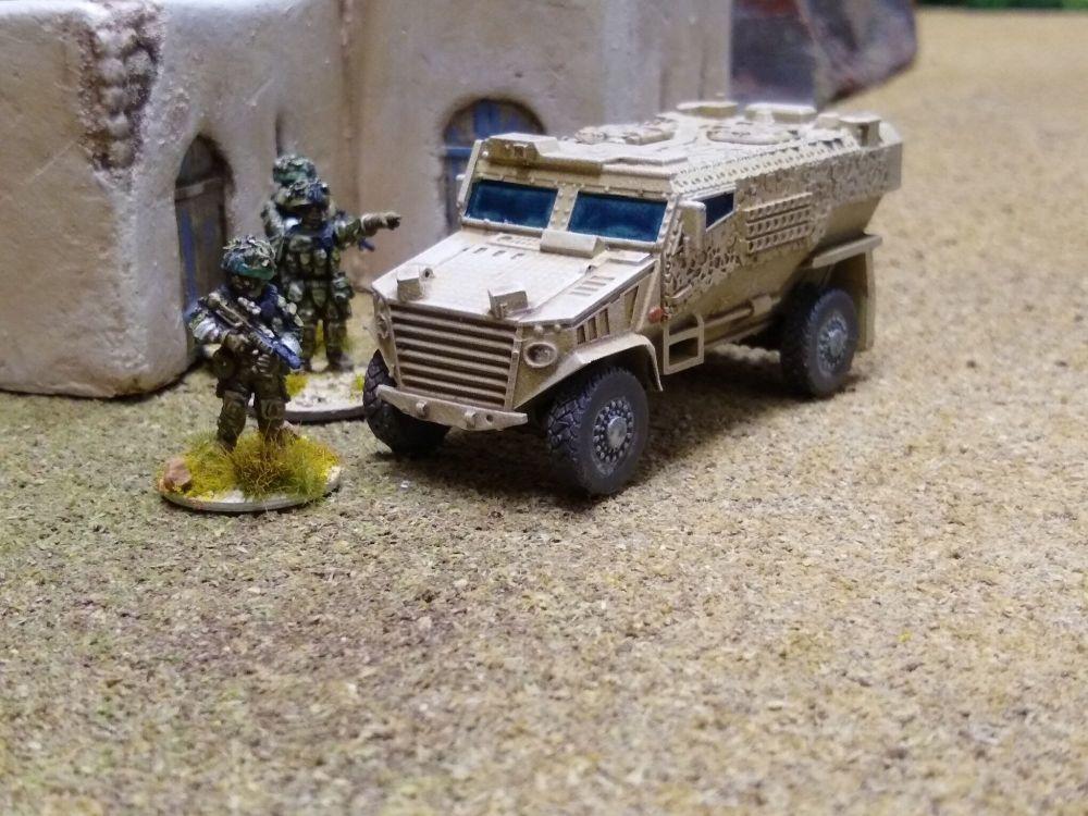 VBA01 Foxhound Armoured Transport (British Army)