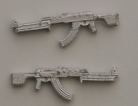 RPK magazine version, bipod folded The Soviets LMG based on the AK47.