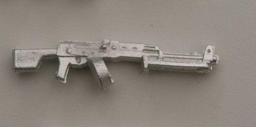 RPK Drum magazine version, bipod folded The Soviets LMG based on the AK47.