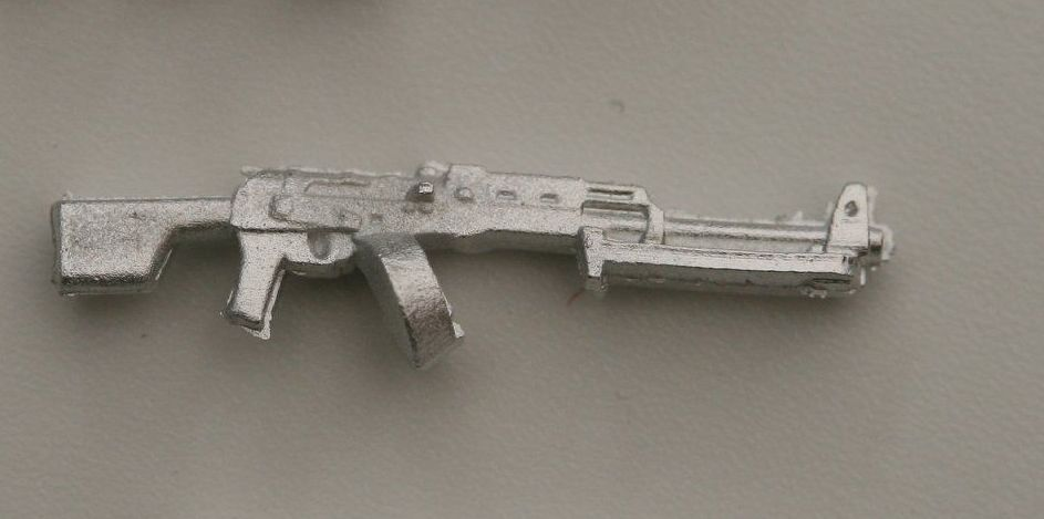 RPK Drum magazine version, bipod folded The Soviets LMG based on the AK47.