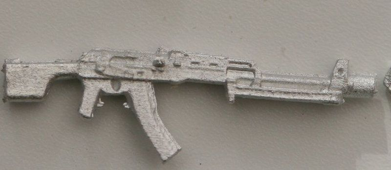 RPK74  Bipod folded. The Soviets LMG based on the AK74.