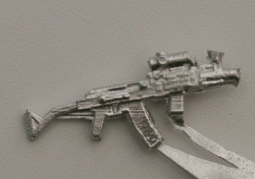 Mpi74 Para. Shortened version of the East German Mpi74 with folding stock