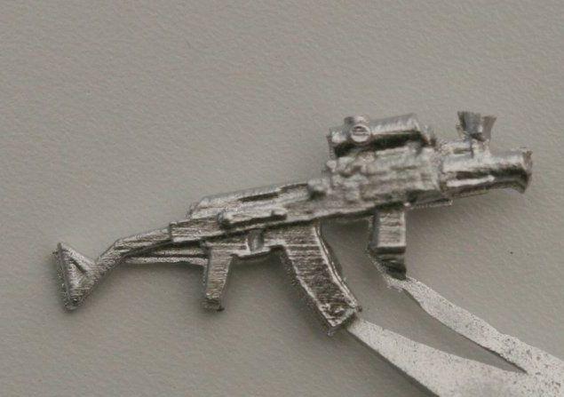 Mpi74 Para. Shortened version of the East German Mpi74 with folding stock