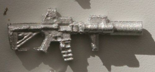 M4 Mk18 SILENCED HOLO optic RIS and Optic used by US Rangers (later version