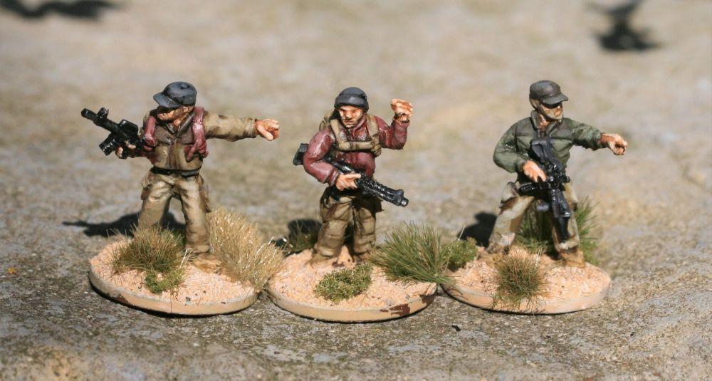 SRV34  Operators Commanders giving orders