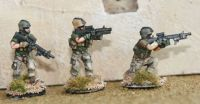 RNA03 Modern Dutch Army C7 , C8  with grenade launchers