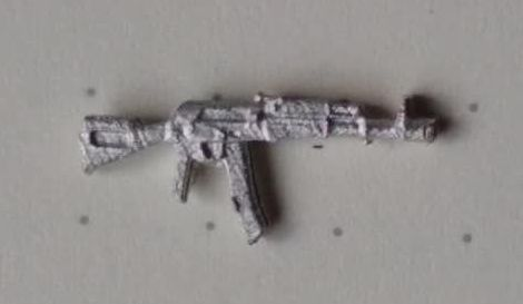 AK74M This is the new black plastic version