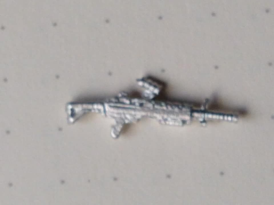 SAW1 first model SAW with metal stock
