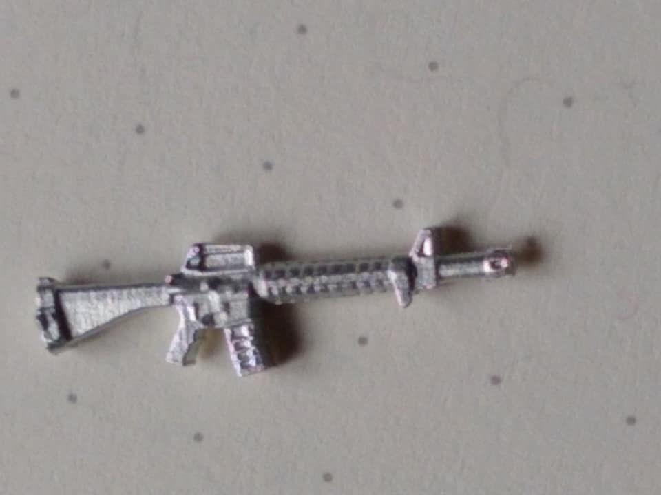 M16/C7  Dutch plactic grip version