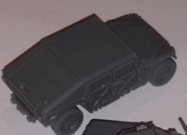 VMUS06c HMMWV Early Hard top and slant back version
