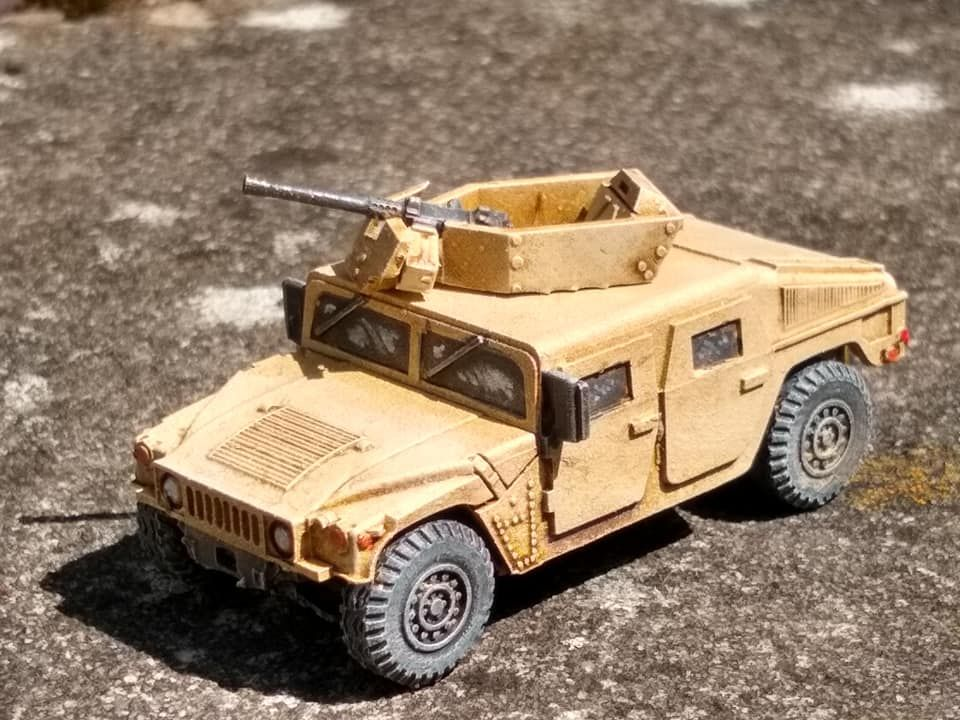 VMUS08a HMMWV M1114 up armoured with GHK Early version