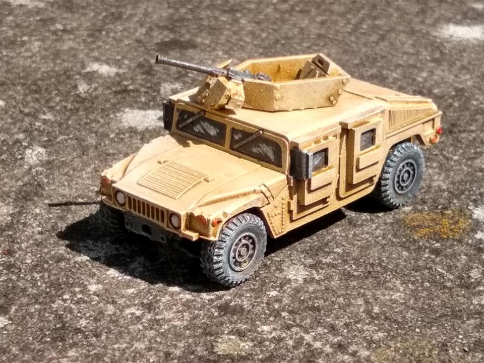 VMUS08a HMMWV M1116 up armoured with GHK Early version