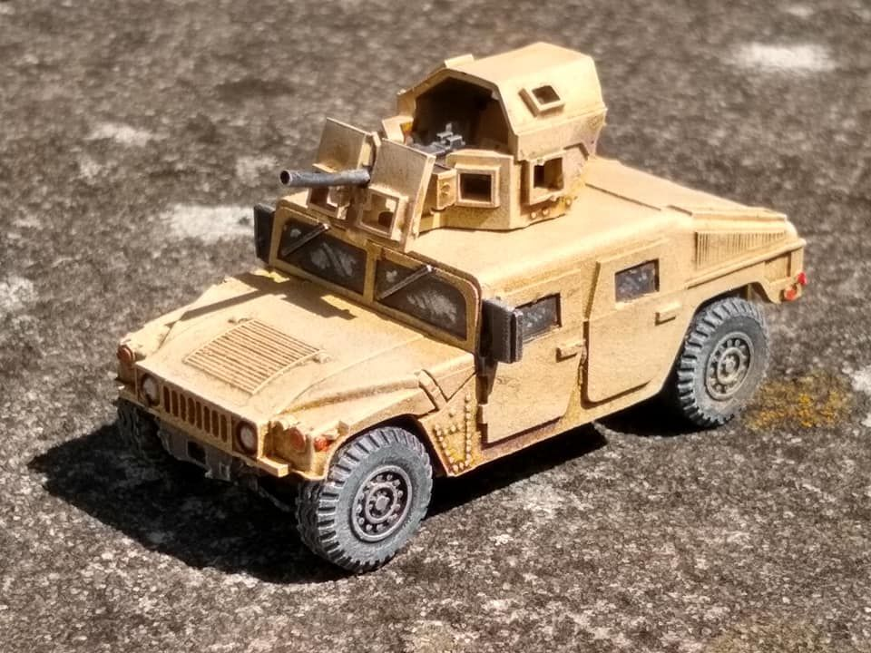 VMUS08b HMMWV M1114 up armoured with GHK Late version