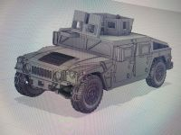 VMUS10a HMMWV M1151 Armoured with GHK Late version