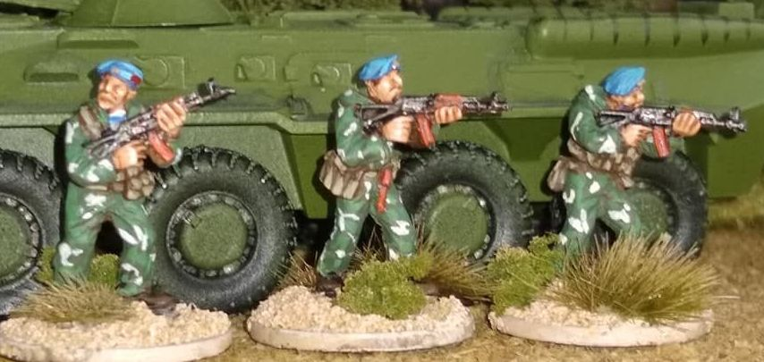SPZ03 Soviet Spetsnaz/VDV in camo suits AK74S Skirmishing