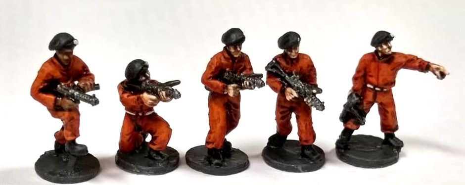SRV36 Henchmen in berets and armed with SMGs.