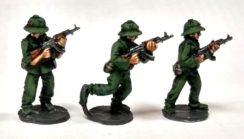 NVA01 North Vietnam Army Advance with AK47