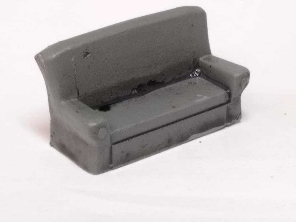 ESKA02 Sofa (cast in metal)