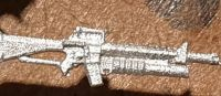 M16A2M203 The  M16  A2 with M203 Grenade Launcher