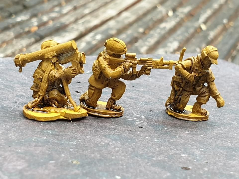 RNA08 Modern Dutch Army support- medic, LSW and SPIKE (needs repairs)